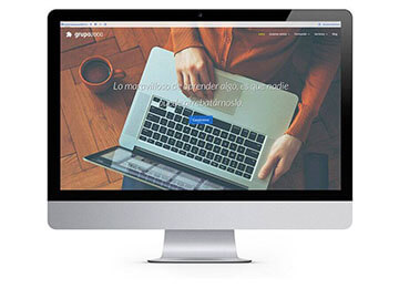 Diseño Web Corporativa Grupo2000