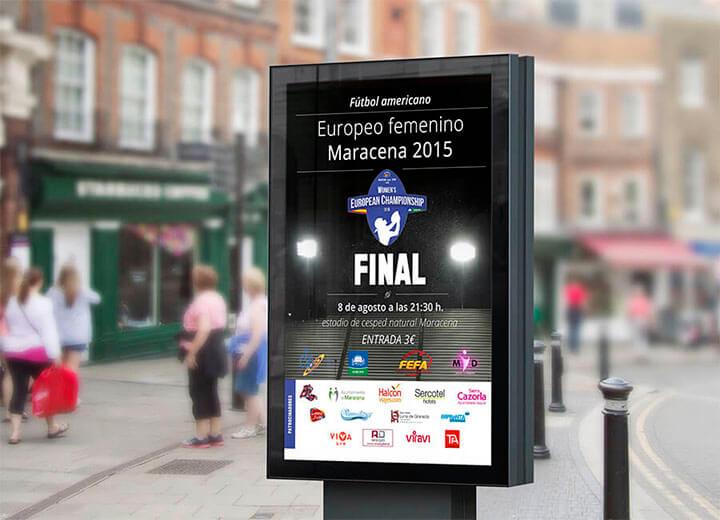 European woman championship 2015 Spain