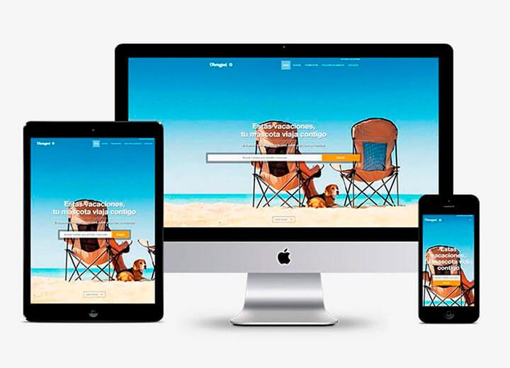Diseño web ohmypet.es
